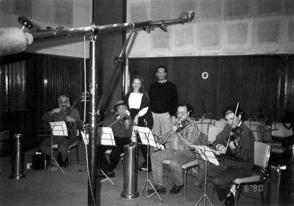 """In the famous """"Studio Um Kalthoum"""""""